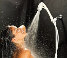 #LoveYourRV - Better RV Shower Tip - Love Your RV! Replace your OEM shower head with one from Oxygenics and enjoy a more powerful spray and save water. Ideal for boondocking. Even with low campground water pressure you'll enjoy a better shower. http://loveyourrv.com/better-rv-shower-tip/