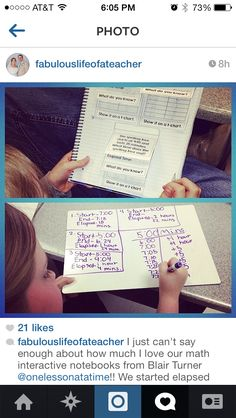 Elapsed Time on a T-Chart - One Lesson at a Time