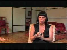 """Eve Ensler, the rock star that she is talking about loving your body. She quotes a Masai woman: """"Do you say that tree isn't pretty cause it doesn't look like another tree? We're all trees … You've got to love your body, Eve. You've got to love your tree. Love your tree."""""""