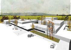 Mansilla + Tuñón Arquitectos, Benavides Laperche Paisajismo · Deutsche Schule Madrid #Paisajismo