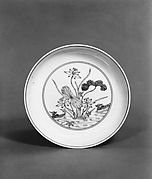 Dish with Lotus Pond