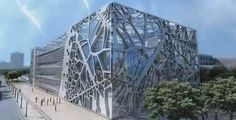 Zoomlion Headquarters Exhibition Center by amphibianArc
