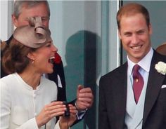 Kate and William..Amazing to see them so happy together..Such a contrast to what we saw with Princess Diana and Charles.