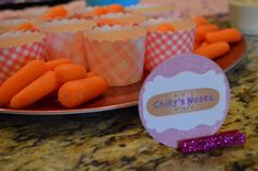 Doc McStuffins Party Food: Chilly's noses