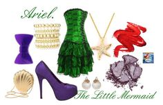 Inspired from Ariel (The Little Mermaid)  # fashion disney