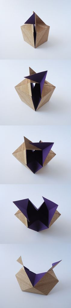 packaging : Pandora Box Veneer by Wiktoria Szawiel, via Behance