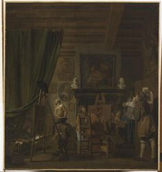 Fran ois marius granet french 1775 1849 l ontine for Horemans interieur