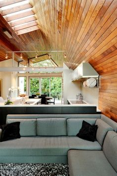 Rustic Modern Inspiration: Wood Paneling
