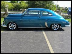1949 Chevrolet Fleetline, a body style often overlooked, but done very nicely in this case.