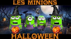 Les Minions fêtent Halloween - YouTube