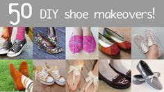 Lots of Shoe Makeovers at Mom Spark! - Dream a Little Bigger Clothes Crafts, Sewing Clothes, Fashion Sewing, Diy Fashion, Minion Shoes, Shoe Makeover, Polo Shoes, Shoe Refashion, Disney Toms