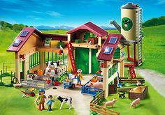 Barn with Silo - PM USA PLAYMOBIL® USA