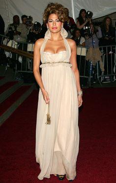 triponbroknbeats: Eva Mendes @ 2006 Met Gala