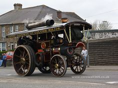 Modern Steam Engines | Watching the Steam Engines | Tuckingmill | New photos of Cornwall 365 ...