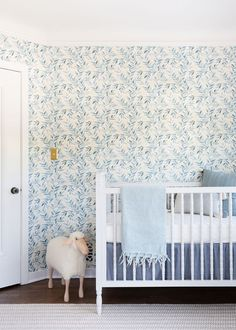 Inside a Beautiful Gender-Neutral Nursery That's Subtle and Sophisticated Tour an adorable gender-neutral nursery designed by the founder of home décor brand Lulu & Georgia, Sara Sugarman Brenner.