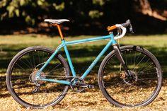 Sparkle Blue Collar Bicycles Disc All Road | The Radavist