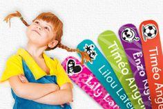 Des étiquettes thermocollantes originales qui vont plaire aux enfants !
