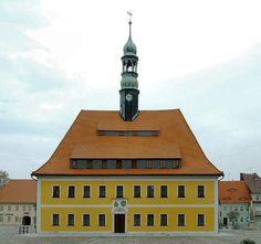 Neustadt Sachsen Rathaus. SACHSEN - Alemania