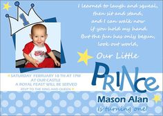 Little prince 1st birthday invitation birthdays prince party prince printable birthday invitation by dandiesuneekboutique filmwisefo