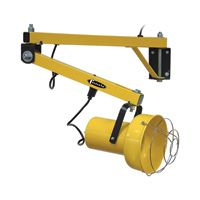Incandescent light provides enough illumination for the darkest trailers. Ideal for illuminating project work areas when used in conjunction with docking arm.