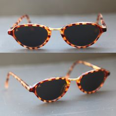 2fb65742f1 Vintage BAUSCH and LOMB W2079 Sunglasses by Ray Ban Tortoise Shell and Gold  Tortoise Shell