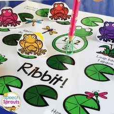 This adorable froggy board game freebie will delight your kids this spring! Play with the included final /g/ cards or any target you choose for open-ended fun! Frog Activities, Spring Activities, Language Activities, Preposition Activities, Speech Therapy Activities, Speech Language Therapy, Speech And Language, Speech Pathology, Language Arts