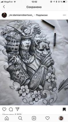 Amazing tomoe gozen female samurai art/sketch done. - - Amazing tomoe gozen female samurai art/sketch done… – - Irezumi Tattoos, Hannya Tattoo, Demon Tattoo, Geisha Tattoos, Norse Tattoo, Warrior Tattoos, Tattoo Arm, Viking Tattoos, Tattoo Sketches