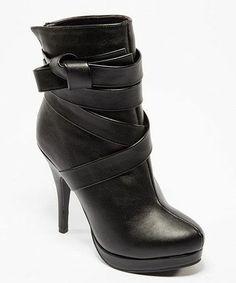 Black Strap Deliz Boot