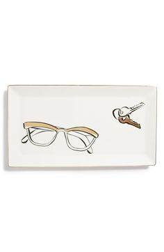 kate spade new york 'eyeglasses' trinket tray available at #Nordstrom