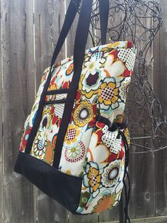 Large Teacher Tote with pockets and zipper, Nurse Bag ...
