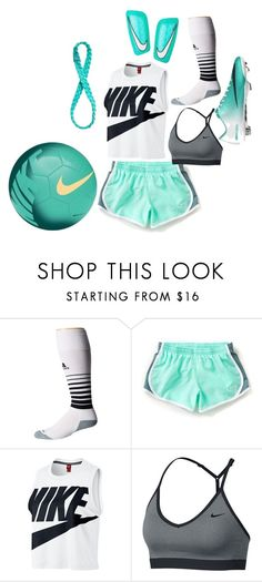 """Soccer"" by sophiafbaumann on Polyvore featuring adidas, NIKE and Athleta"