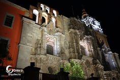 Templo de la Compañía,  Congregación del Oratorio de San Felipe Neri. Guanajuato.