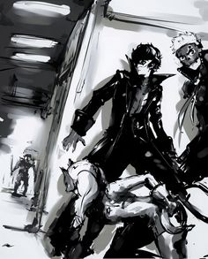 Persona 5 - Sneaking and Ambushing // My favorite mechanic of the game <3