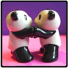 They are salt and pepper shakers!