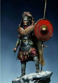 m Fighter Ares Mythologic- Figure Kits Roman Aquilifer Ancient Rome, Ancient History, Guerrero Dragon, Roman Armor, Rome Antique, Roman Warriors, Roman Soldiers, Toy Soldiers, Julius Caesar