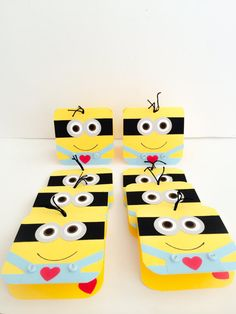 Minion Valentines Handmade Valentines Cards for by DressItUp4U