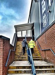 19th March 2016 Bury 2-2 Shrewsbury Steps