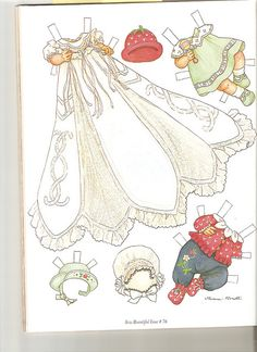 Sew Beautiful paper doll Cecile 2 | Flickr - Photo Sharing!