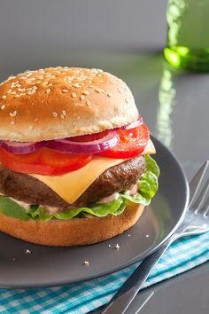 Hamburger #recipe #hamburger #burger
