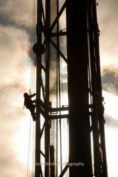 Derrick Hand Ascending Rig | North East B.C., Canada - Oilpro.com