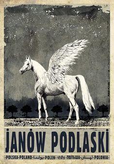 Ryszard Kaja 'Janow Podlaski, Poland' - Polish Poster, 2013