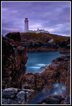 Fanad lighthouse, Letterkenny, Donegal, Ireland Copyright: DESMOND DALY