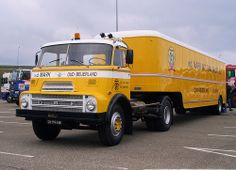 DAF01-99-RB vd Mark Oud Beijerland 1969  A2200 trekker met oplegger