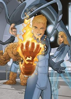 Fantastic Four by Cold Fuzion Studios