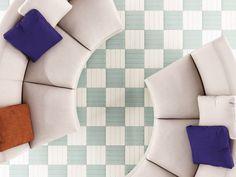 Manhattan Mint x Ceramic Floor Tiles, Wall And Floor Tiles, Porcelain Tile, Manhattan, Greige, Terrazo, Background Tile, Buy Tile, Art Deco