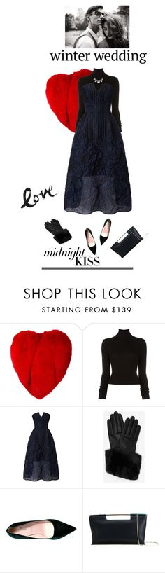 """""""Love me tender"""" by iriadna ❤ liked on Polyvore featuring Yves Saint Laurent, BLK DNM, Roland Mouret, Ted Baker, Kate Spade, Delpozo, Stephen Webster, wedding, partydress and partystyle"""