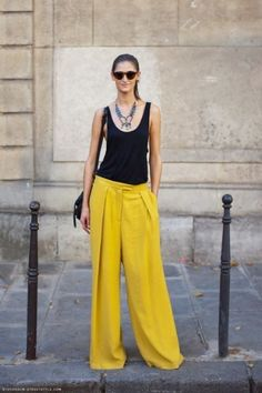 yellow in fashion | oh I love this