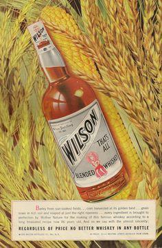 Wilson Blended Whisky  1930s