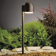 Kichler Simplicity Side Mount Single Light Low Voltage Path & Spread Light - Textured Architectural Bronze