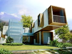 Shipping Container Housing and Architecture